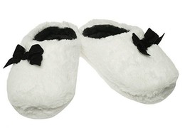 Inc International Concepts Plush Bow Clog Slippers LARGE 9-10 - $14.84