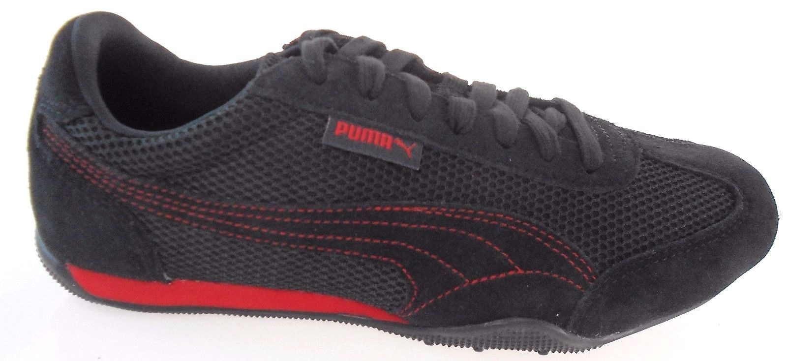Puma 76 Runner Mesh Men's BLACKRED Shoes and 50 similar items
