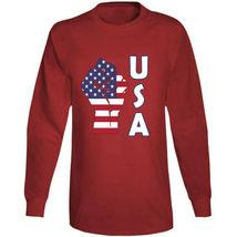 Fight Power Usa Long Sleeve T Shirt image 10