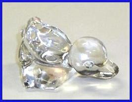 Fostoria Crystal Duckling Duck Freebie - $0.00