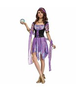 FANTASY GYPSY MAGIC FORTUNE TELLER ADULT HALLOWEEN COSTUME SIZE SMALL/ME... - $45.70