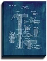 Hammer Patent Print Midnight Blue on Canvas - $39.95+