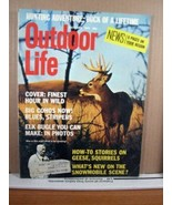Outdoor Life Magazine October 1973 Finest Hour in Wild, Buck of a Lifetime - $8.99