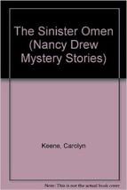 The Sinister Omen N°67 par Carolyn Keene (1982, Livre de Poche) - $24.20