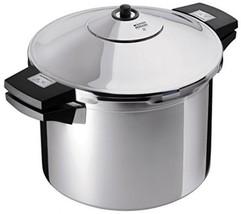 Kuhn Rikon Stainless-Steel Pressure Cooker, 8 Qt - £225.70 GBP