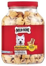 Milk-Bone MaroSnacks Dog Treats Vitamins Bone Marrow for All Dogs Sizes,... - $11.49
