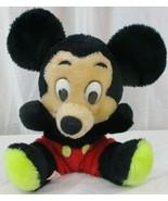 Vintage Mickey Mouse Stuffed Toy by R. Dakin & Co. Walt Disney Productio... - $29.69