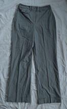 Womens Larry Levine Stretch Dress Pants ~ Gray ~ sz 4 ~ 30 Inseam ~ Exce... - $12.86