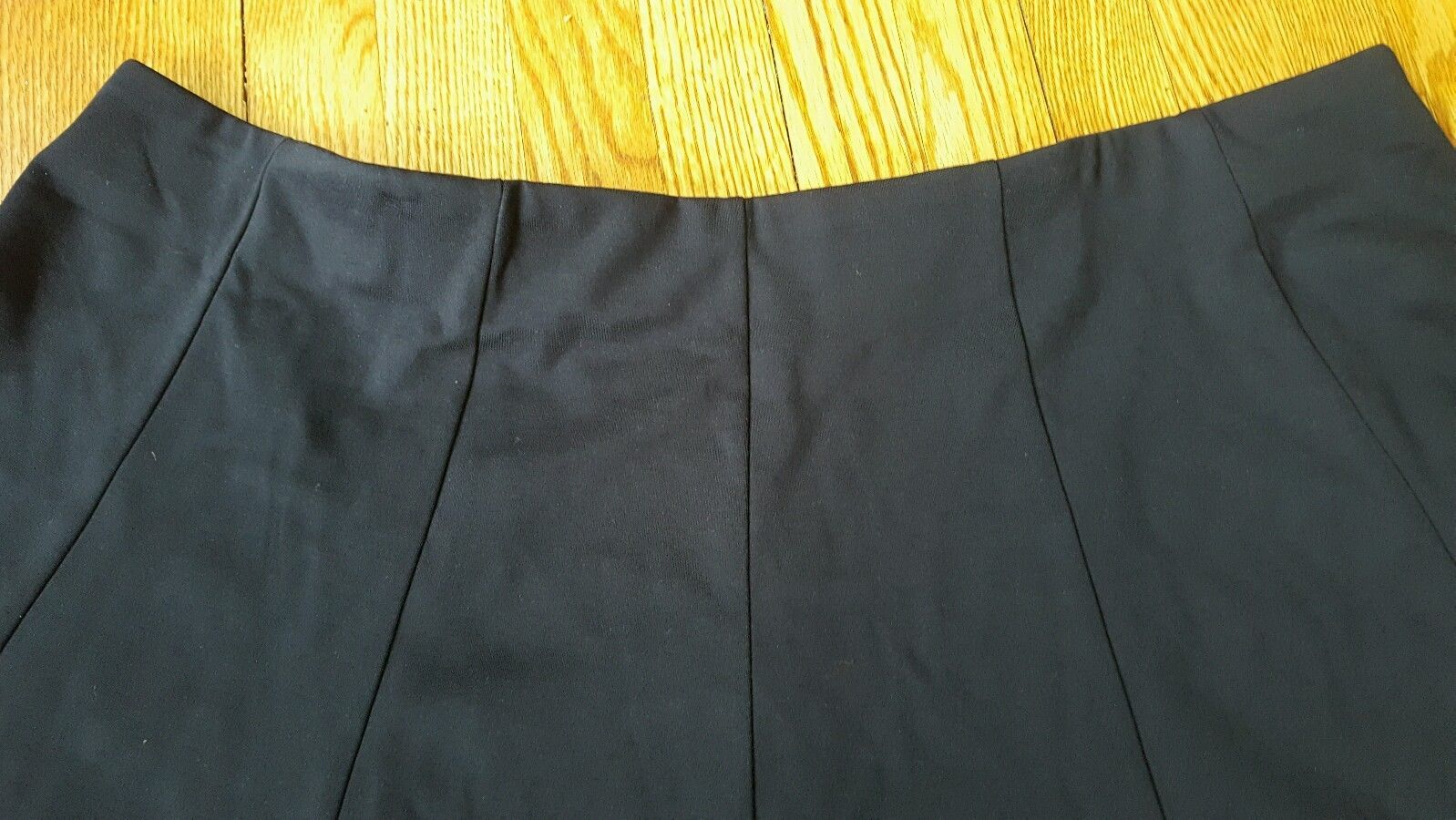 LANE BRYANT Flat Front Ponte ten Paneled Circle Swing Skirt New Plus Size 28