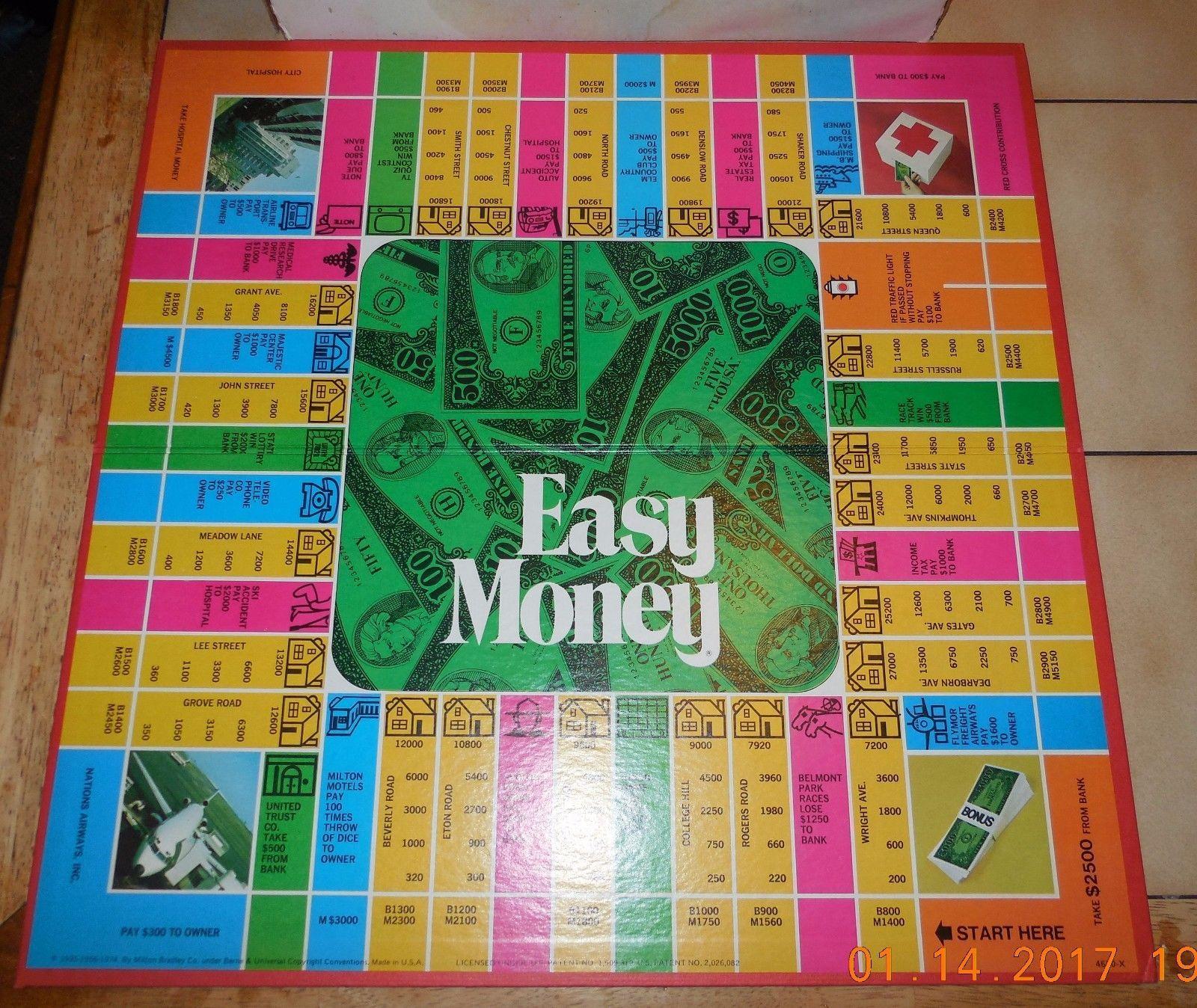 Vintage 1974 100 Complete Easy Money