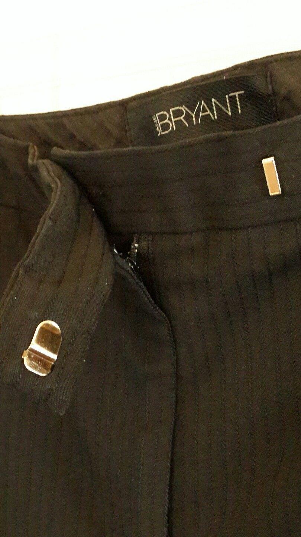 98bc75105e8 Lane Bryant Dress Pants sz 18 Textured Pinstripe Black Polyester