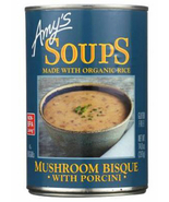 Amy's Mushroom Bisque with Porcini Soup, 14 oz Can, Case of 12 vegetable - $56.99