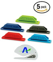 Pen Pal Pen/Pencil Holder, Rubber, Self-Adhesive, 5-Pack/All Same Color ... - £10.95 GBP