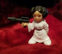 "Genuine Hasbro 2004 LFL Small 1 1/2"" (inch) Princess Leia PVC Figurine Only - $16.82"