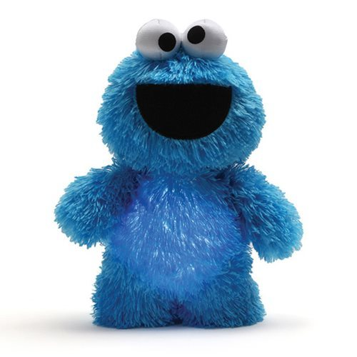 Sesame Street Cookie Monster Glow Pal 9-Inch Plush, Gund