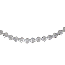 Crystal Bicone Necklace image 1