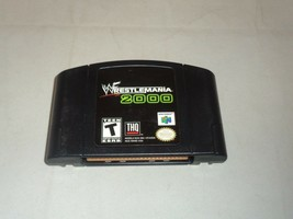 WWF Wrestlemania 2000, Game Only, Nintendo 64 - $12.99