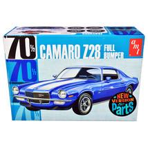 Skill 2 Model Kit 1970 1/2 Chevrolet Camaro Z28 Full Bumper 1/25 Scale M... - $45.76