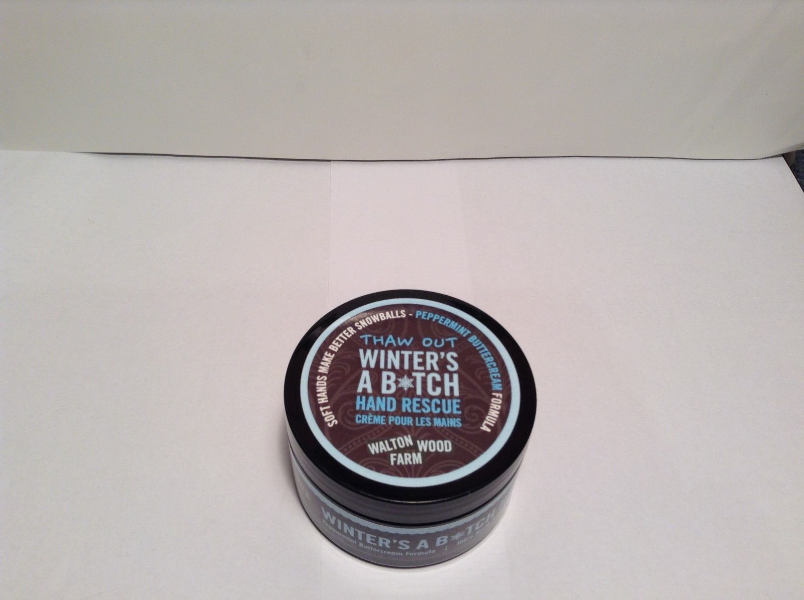 NEW Winter's A B*tch 4fl oz Peppermint Hand Rescue Buttercream