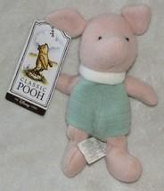 "Disney Store Stuffed Plush Winnie the Pooh Piglet Bean Bag Animal Toy 8"" new - $25.73"