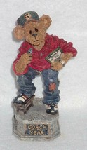 Boyd Bearstone Resin Bears Coach Grizberg Leading The Way Figurine 1E #2... - $9.46