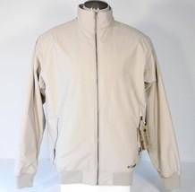 Columbia Sportswear EXS Norse Peak Tan Zip Front Jacket Men's Large L NW... - $92.80