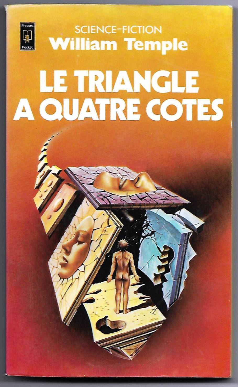 Primary image for William Temple Four Sided Triangle (Triangle a 4 Cotes) French Book Siudmak Art