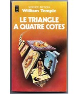 William Temple Four Sided Triangle (Triangle a 4 Cotes) French Book Siud... - $6.95