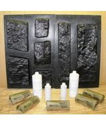 26 LIMESTONE MOLD + SUPPLY KIT MAKE 1000s OF DIY CONCRETE OR PLASTER VEN... - $389.98