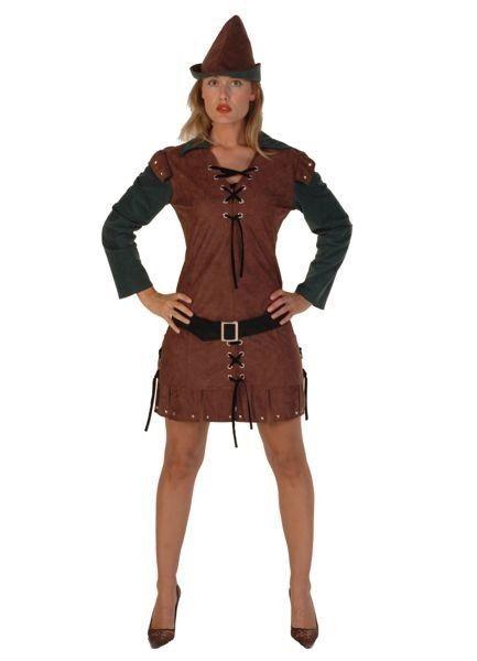 Deluxe Ladies Robin Hood Costume