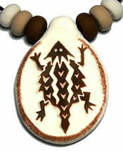 Horny Toad Pendant Horned Lizard Necklace Tribal Mimbres Native American... - $12.82