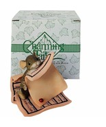 Charming Tails figurine mouse Fitz Floyd anthropomorphic While you were ... - $28.98