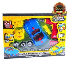 Kids Take Apart Toy Racing Car, Build and Repair It Activity Toys for Bo... - $23.76