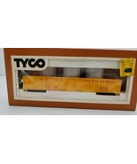 TYCO HO Scale Gondola With Culvert Pipe Car 341B - $23.33