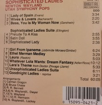 Sophisticated Ladies by Newton Wayland Cd image 2