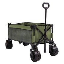 PATIO GUARDER Folding Collapsible Wagon Cart, All Terrain Utility Wagon,... - $114.74