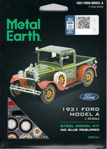Fascinations Metal Earth 1931 Ford Model A Laser Cut 3D Model A MMS197 - $11.76