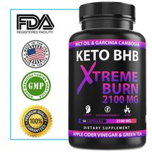2100MG Keto Diet Pills Advanced Weight Loss that WORKS Burn Fat Carb A1 ... - $35.94