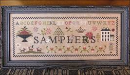 Samplers cross stitch chart The Scarlett House - $13.50