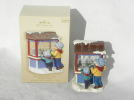 2007 Hallmark Keepsake Christmas Windows Series Christmas Tree Ornament - $19.99