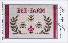 Bee Farm  cross stitch chart Artful Offerings  - $9.00
