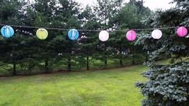 Set di 10 Multicolore Interno/Esterno Mini Orientale Stile Nylon Lantern... - €10,91 EUR