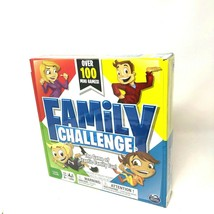 Family Challenge Board Game Spin Master 100 Mini Games Family Night NIB - $17.09