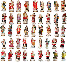 Lot of 30 Memories of Santa Collection Ornament/Figurines New In Box Don... - $287.10