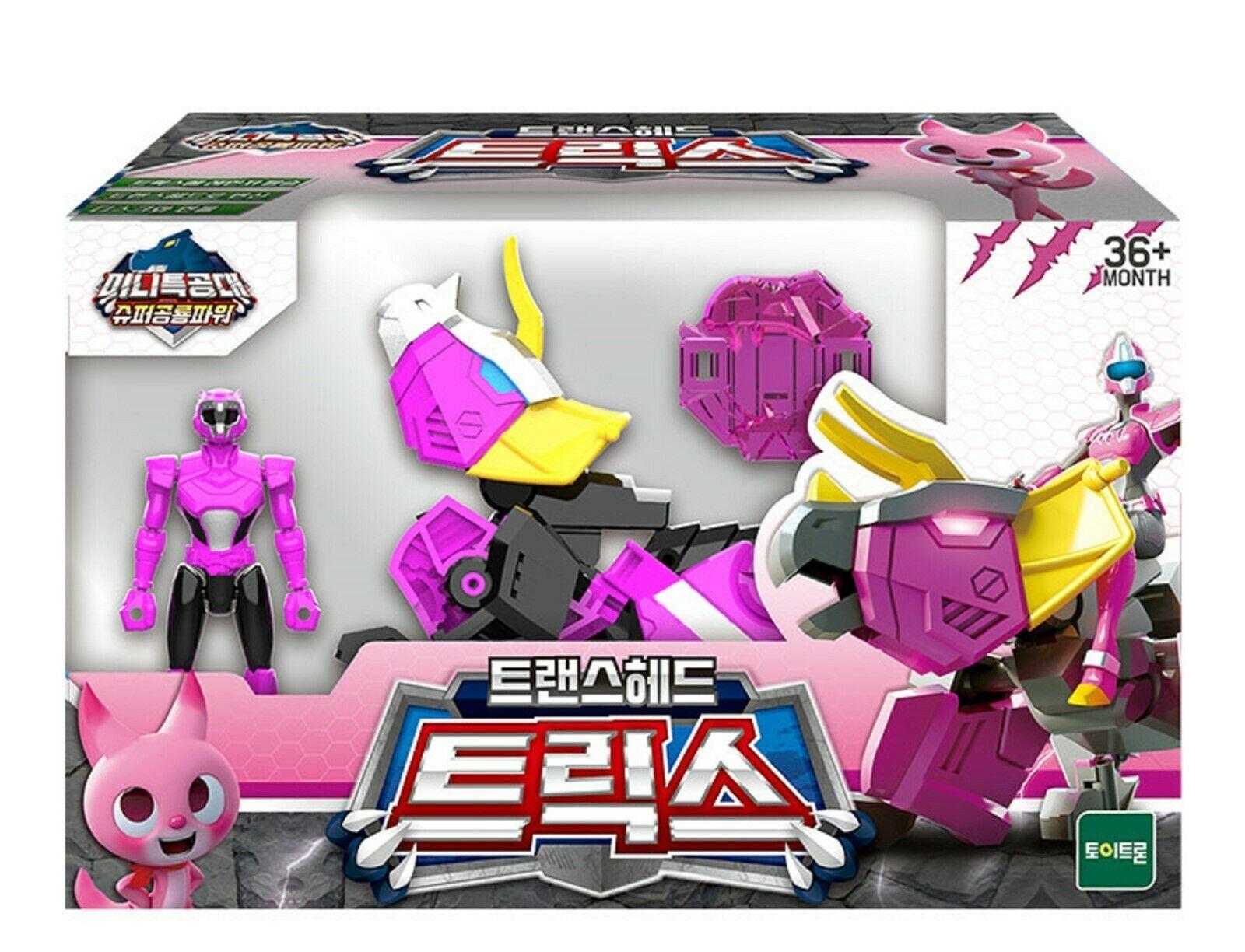 Miniforce Trans Head Trice Super Dinosaur Power Action FIgure Toy