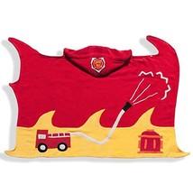 Kidorable Boys 2-7 Fireman Towel, Red, Medium