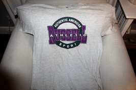 VINTAGE RUSSELL ATHLETIC SPORTS  SPELL OUT T-SHIRT SIZE MEN'S 2X - $15.83