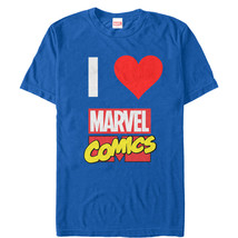 Marvel I Love Comics Mens Graphic T Shirt - $10.99