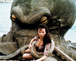 Warlords of Atlantis Lea Brodie Sexy Busty 16x20 Canvas Captured by Giant sea - $69.99