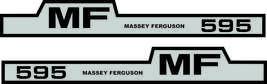 MASSEY FERGUSON 595 - Tractor decal set, reproduction - $36.00